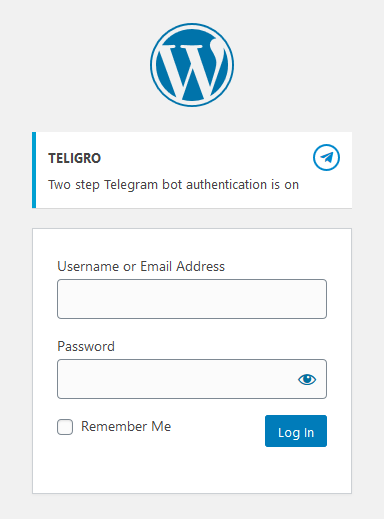Teligro  – Telegram Two-Step Verification